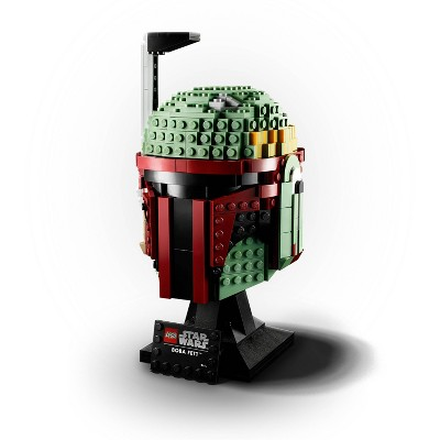 LEGO Star Wars Boba Fett Helmet 75277 Building Kit; Cool Collectible Star Wars Set 625pc