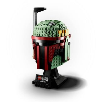 LEGO Star Wars Boba Fett Helmet Building Kit; Cool Collectible Star Wars Set 75277