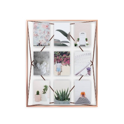 Prisma Gallery Photo Display Frame Copper - Umbra