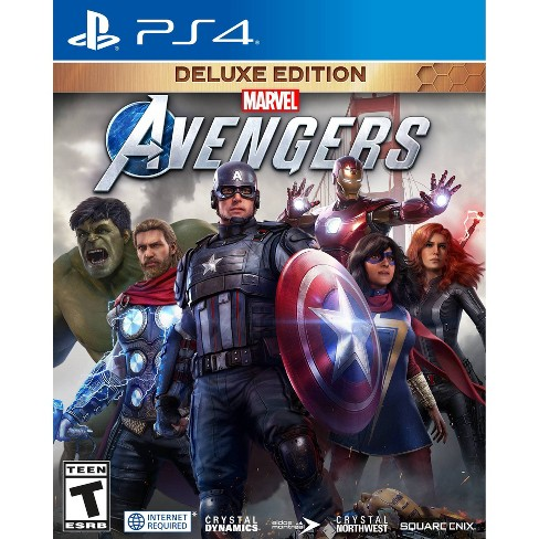 Marvel's Avengers: Deluxe Edition - PlayStation 4 - image 1 of 4