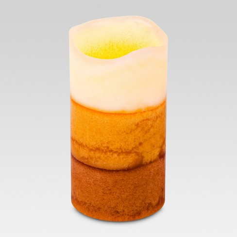 Scented LED Pillar Candle Vanilla - Threshold™ - image 1 of 1