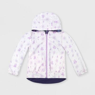 Girls' Disney Frozen Reversible Anorak Jacket - Purple - Disney Store