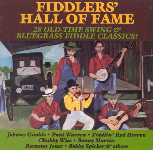 Various - Fiddlers hall of fame (CD) - image 1 of 1