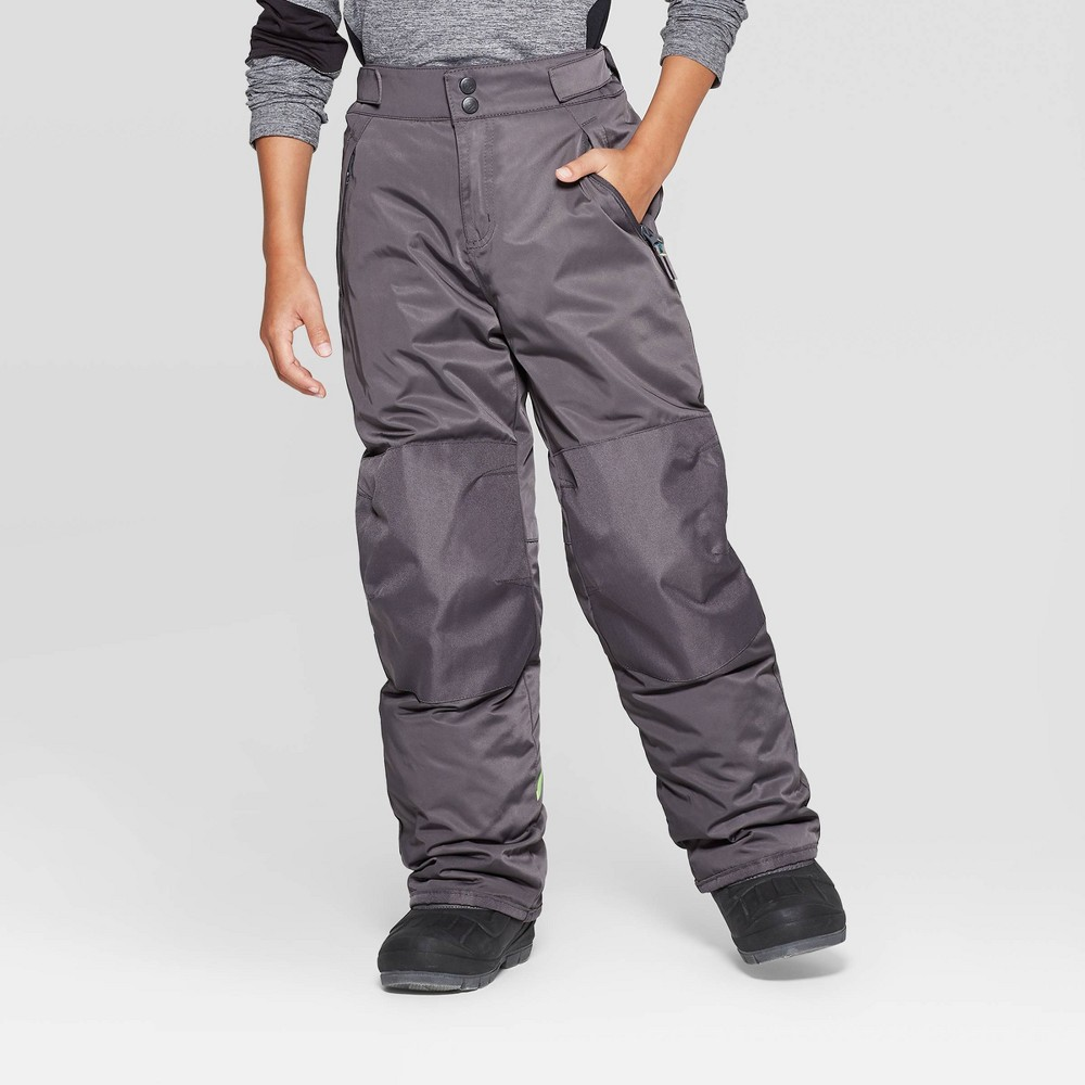 Image of Boys' Snow Pants - C9 Champion Gray M, Boy's, Size: Medium