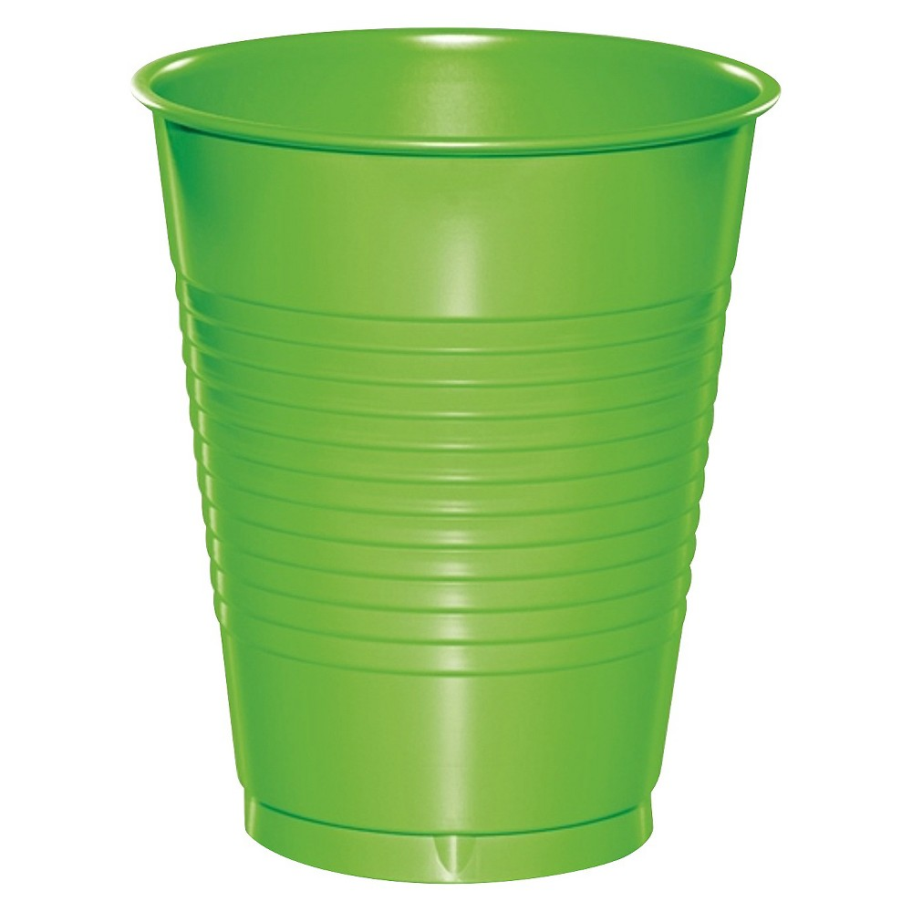 Image of 20ct Fresh Lime Green Disposable Cups