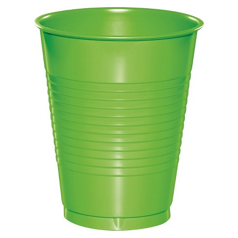 20ct Fresh Lime Green Disposable Cups - image 1 of 1