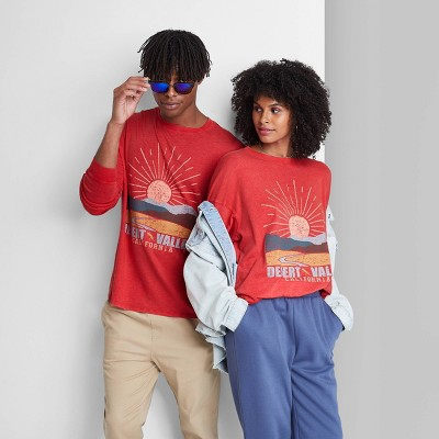 Long Sleeve Oversized T-Shirt - Wild Fable™