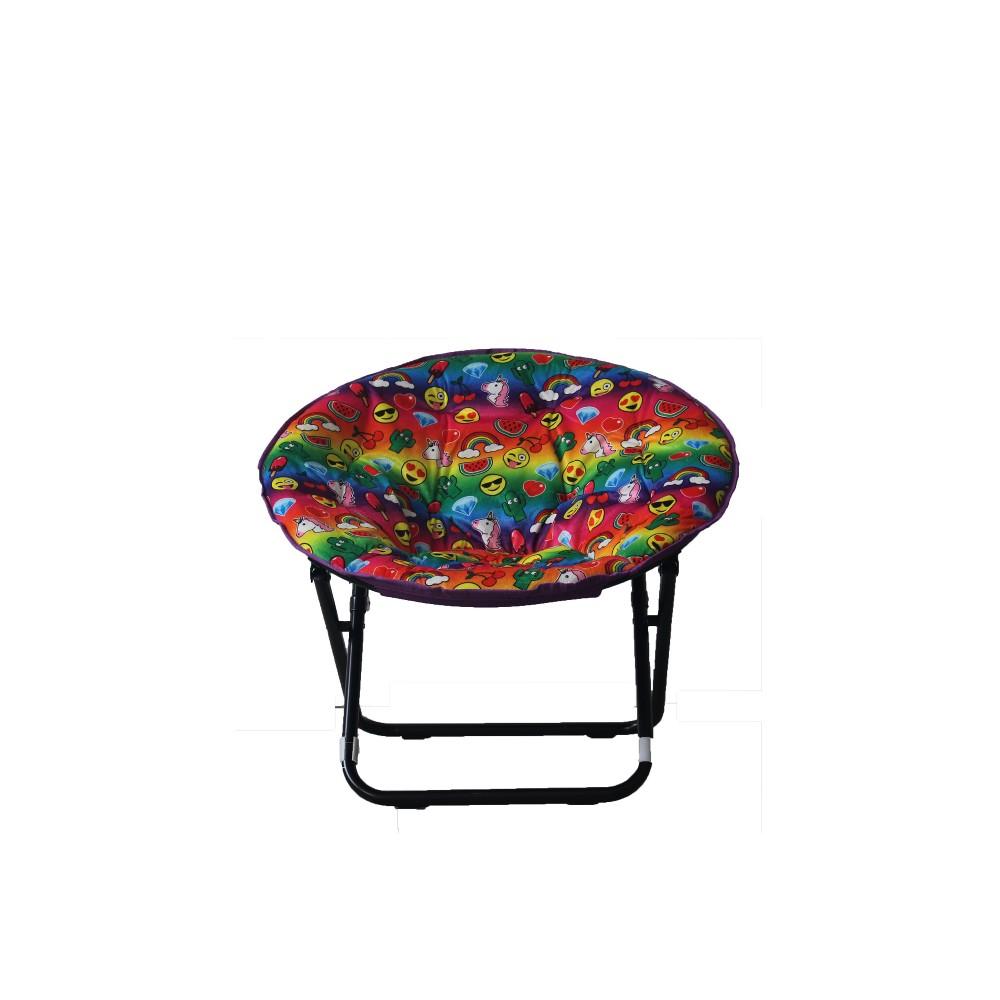 Image of Emoji Adult Saucer Chair - Emoji Pals