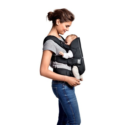 BABYBJRN - Baby Carrier One Denim Gray Cotton Mix   Target