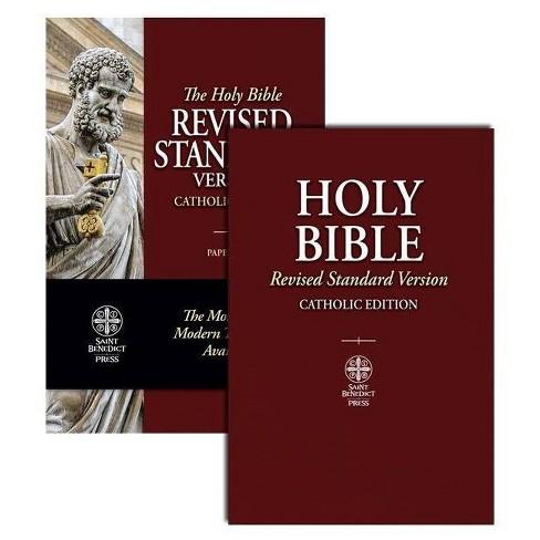 Catholic Bible-RSV - (Paperback) - image 1 of 1