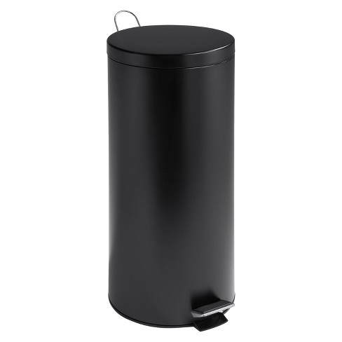 Honey-Can-Do 30 Liter Step Trash Can - Black - image 1 of 1