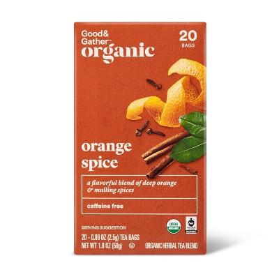 Organic Orange Spice Tea - 20ct - Good & Gather™
