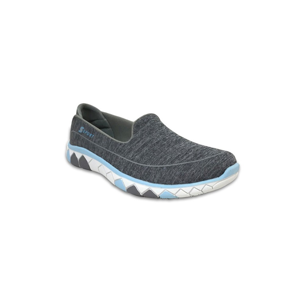 Women's S Sport By Skechers Fall 2016 Performance Athletic Shoes - Dark Heather 10, Gray