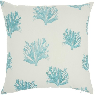 Nourison Outdoor Pillows BJ148 Turquoise