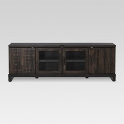 "65"" TV Stand Weathered Pine - Threshold™"