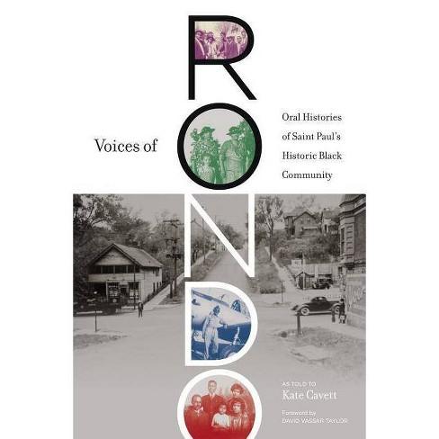 Voices of Rondo - (Fesler-Lampert Minnesota Heritage) (Paperback) - image 1 of 1