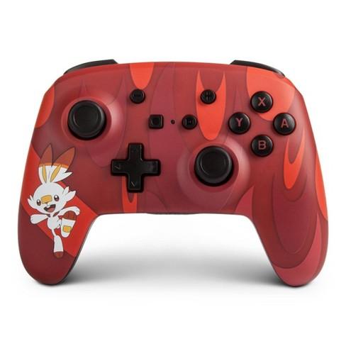 Powera Enhanced Wireless Controller For Nintendo Switch Scorbunny Target
