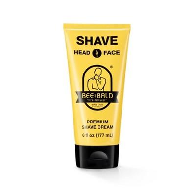 Bee Bald Premium Shave Cream - 6 fl oz