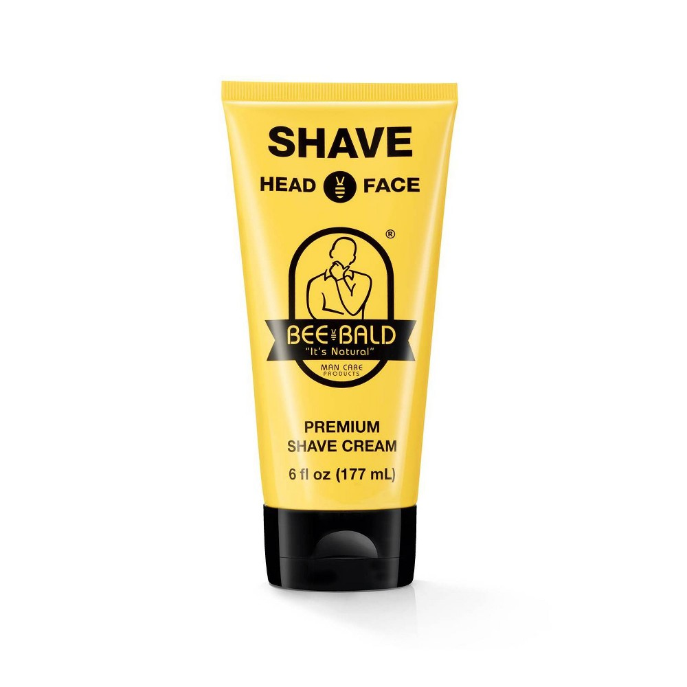 Image of Bee Bald Premium Shave Cream - 6 fl oz