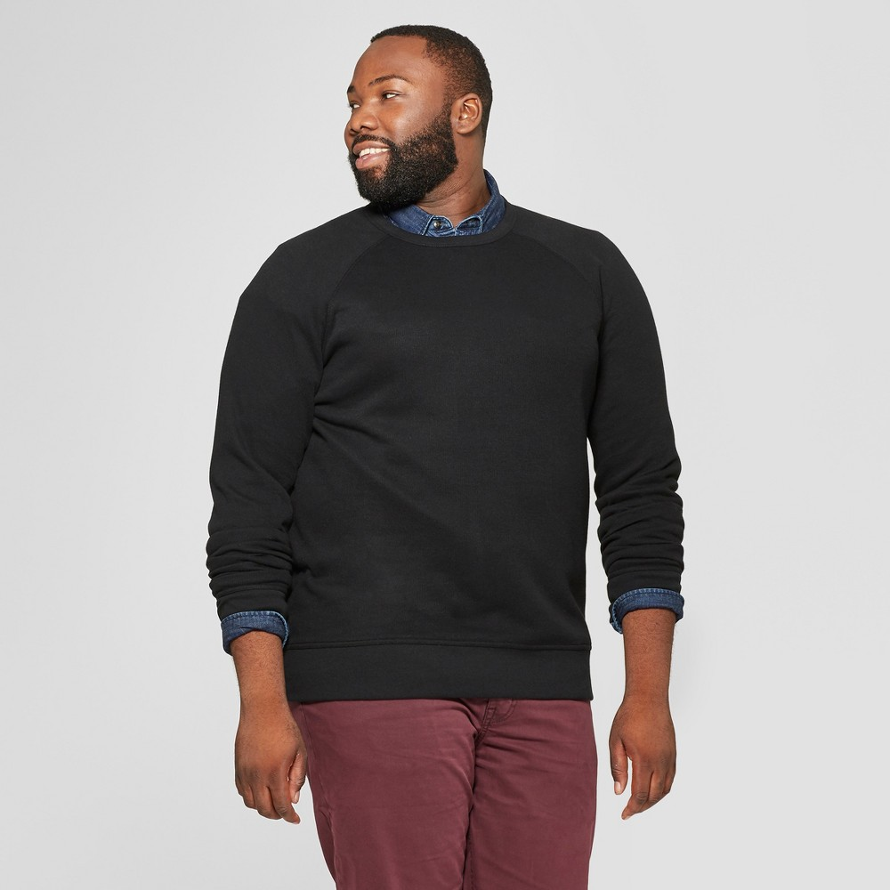 Men's Big & Tall Standard Fit Long Sleeve Waffle Thermal T-Shirt - Goodfellow & Co Black 5XBT