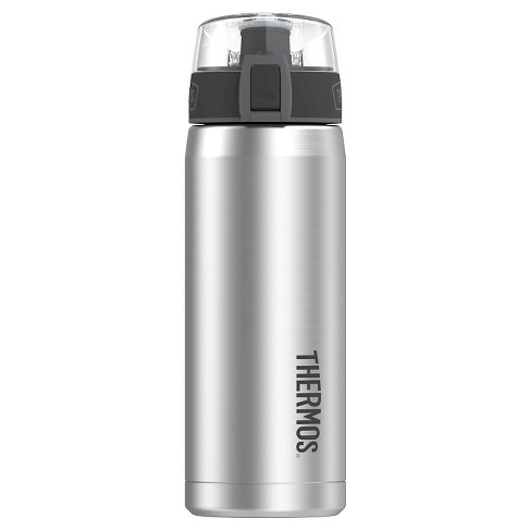 Thermos Water Bottle Stainless Steel Insulated 18 oz - Stainless Steel - image 1 of 1
