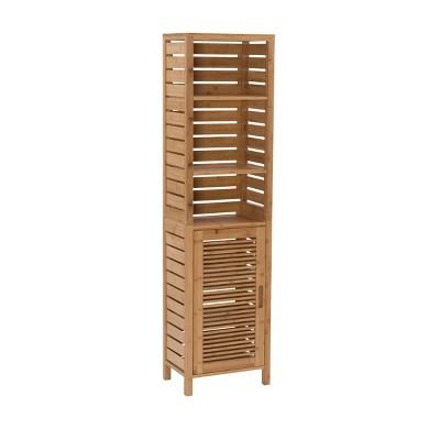 Bracken Tall Cabinet Natural - Linon
