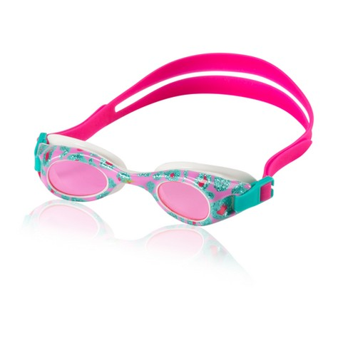 Speedo Kids Glide Print Goggle - Pink/Turquoise - image 1 of 1