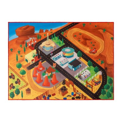 "Cars 40""x54"" Game Rug"