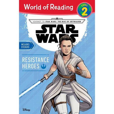 Star Wars World of Reading Book Resistance Heroes Level 2 - by Michael Siglain (Paperback)