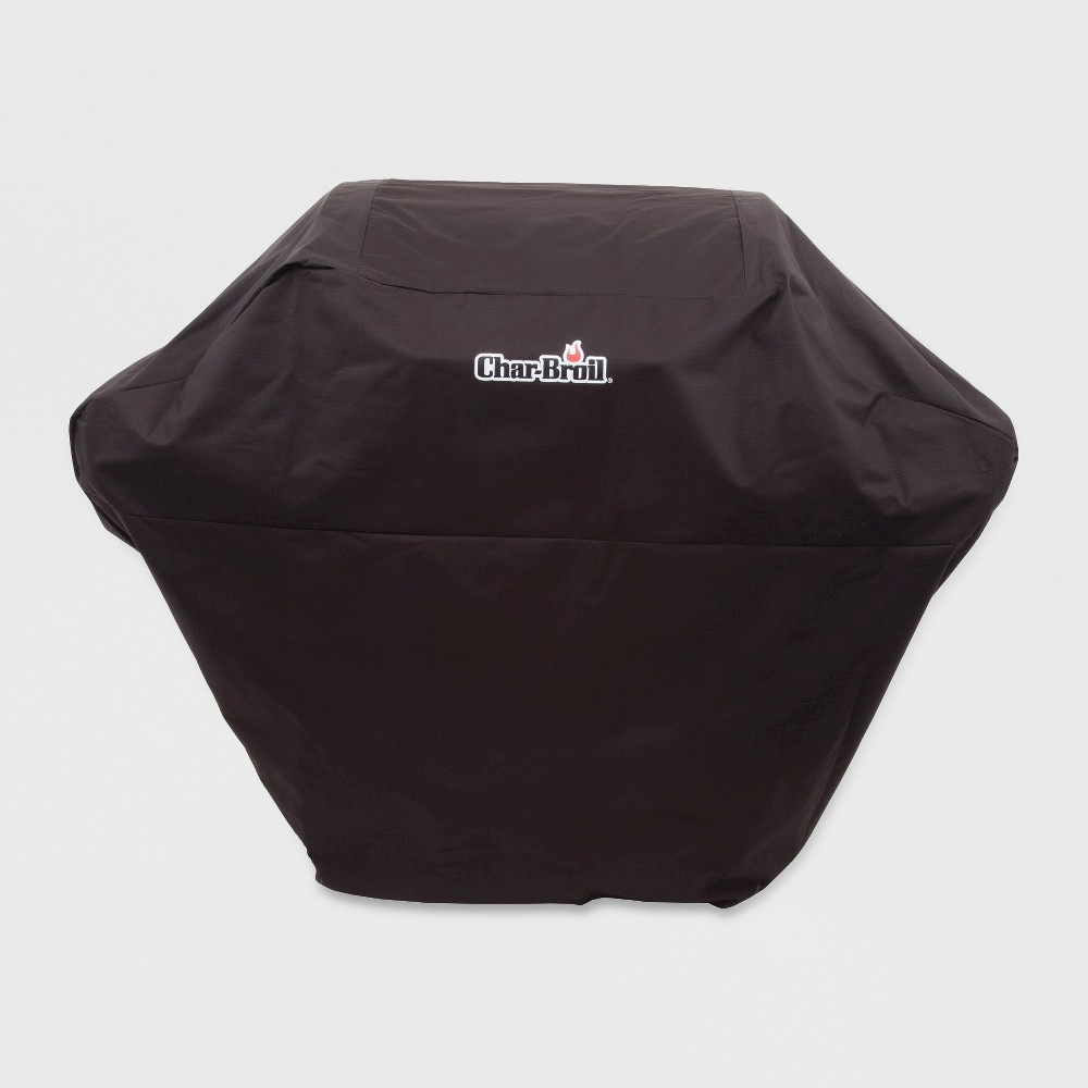 Image of Char-Broil 3-4 Burner Rip-Stop Grill Cover - Black