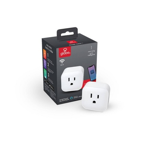 Smart White Wi-Fi Enabled Voice Activated Outlet Plug - image 1 of 4