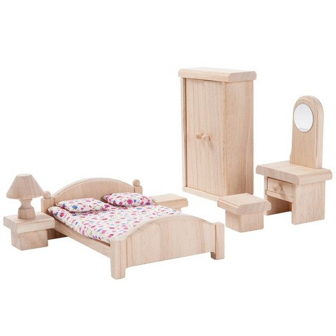 Plan Toys Classic Bedroom Doll Furniture - image 1 of 3