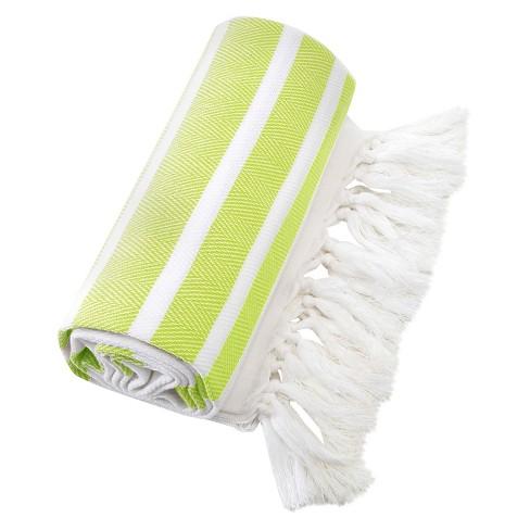 Herringbone Pestemal Beach Towels - Linum Home Textiles® - image 1 of 3