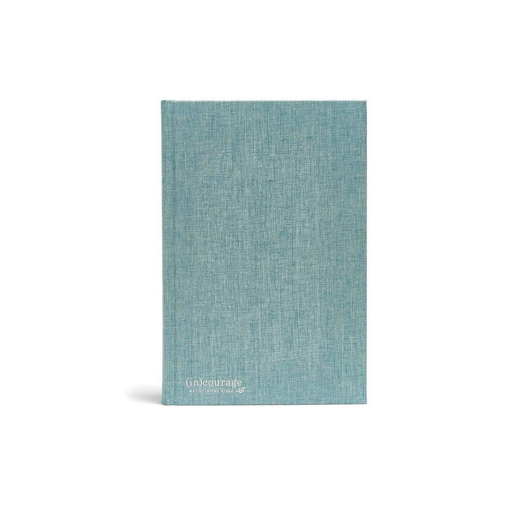Csb In Courage Devotional Bible Green Cloth Over Board By Csb Bibles By Holman Hardcover