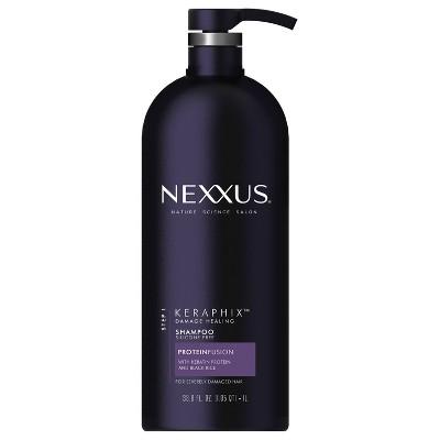 Shampoo & Conditioner: Nexxus Keraphix