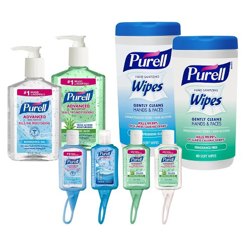Purell Advanced Hand Sanitizer and Wipes Kit - image 1 of 4