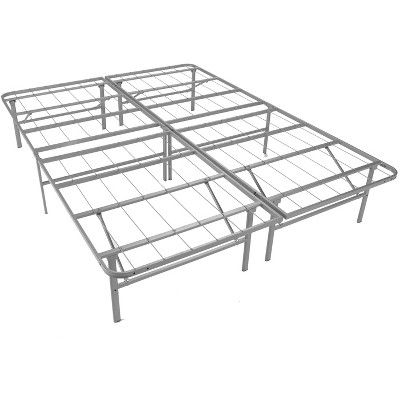 Mantua Manufacturing Mantua Premium Platform Bed Base in Silver, Replaces Box Spring and Bed Frame