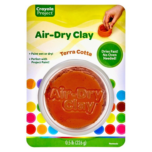 Crayola® Projects Air Dry Clay, 8oz - Terracotta : Target