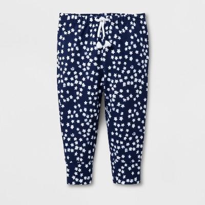 Baby Girls' Leggings - Cat & Jack™ Nightfall Blue 0-3M