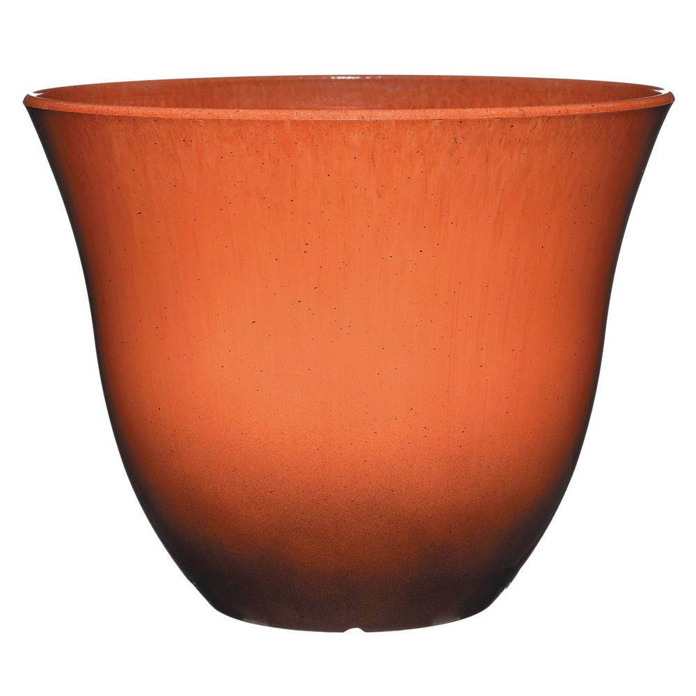 Set Of 2 Honeysuckle 15 34 Patio Pot Planter Ember Classic Home And Garden