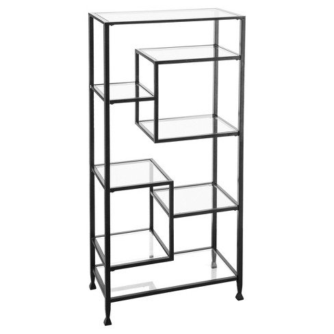 "Jamel Bookcase 68"" Matte Black - Aiden Lane® - image 1 of 5"