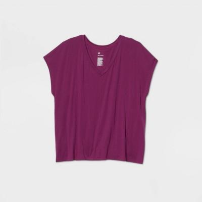 Women's Short Sleeve Tie Back V-Neck T-Shirt - All in Motion™