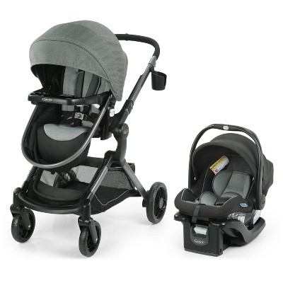Graco Modes Nest Travel System with SnugRide Infant Car Seat