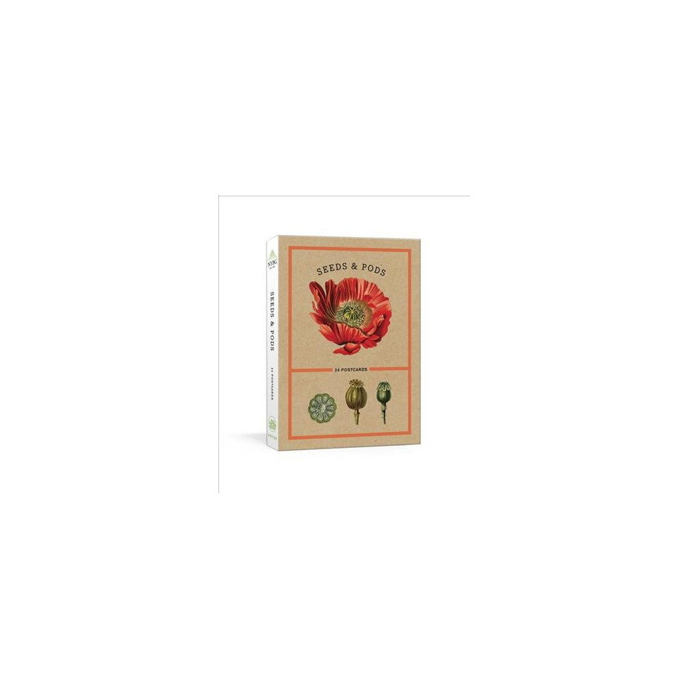 Seeds and Pods : 24 Postcards - (Stationery)