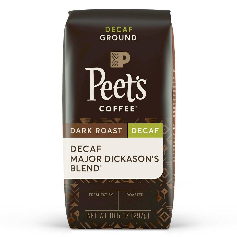 Peet 39 S Decaf Major Dickason 39 S Blend Dark Roast Ground Coffee 10 5oz
