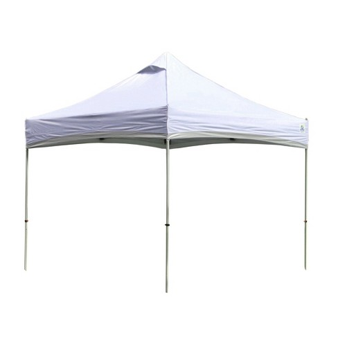 Undercover 10 x 10 Foot Lightweight Recreation Aluminum Outdoor Canopy, White - image 1 of 4