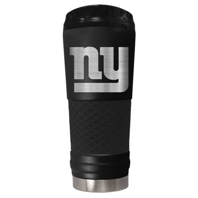 NFL New York Giants The Stealth Draft 24oz Powder Coated Laser Etched Vacuum Insulated Tumbler