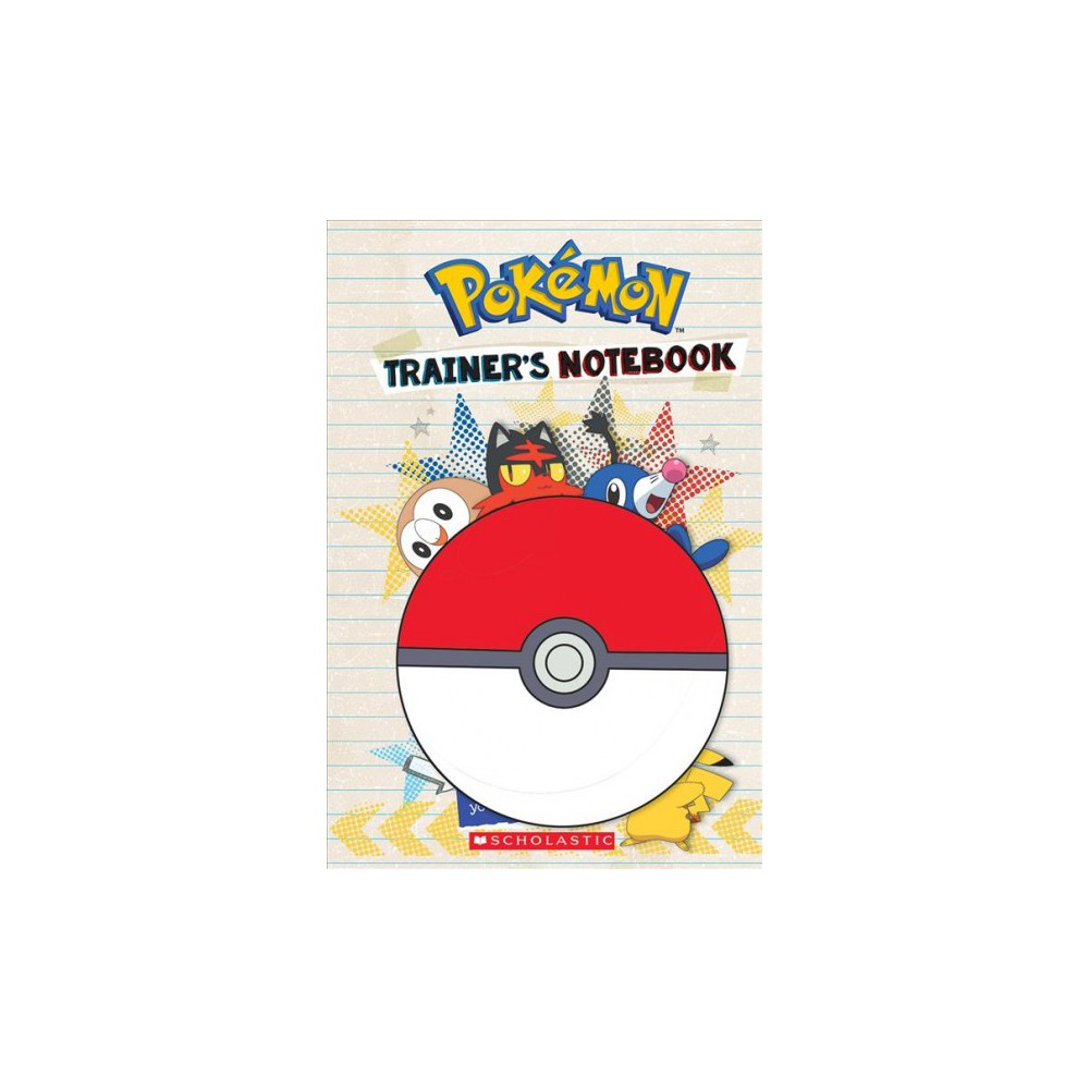 Pokemon Trainer's Notebook - (Pokemon) by Sonia Sander (Hardcover) Pokemon Trainer's Notebook - (Pokemon) by Sonia Sander (Hardcover)