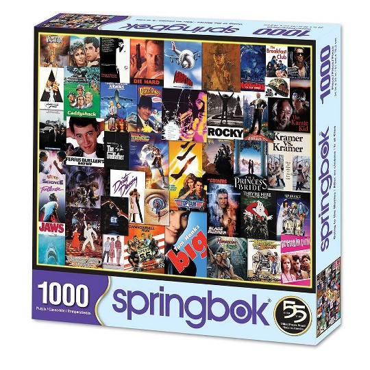 Springbok Going to the Movies 1000 Piece Jigsaw Puzzle