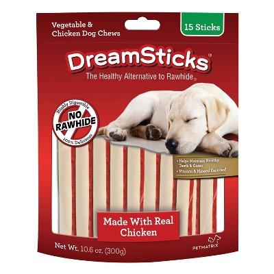 DreamBone Dreamsticks Dry Dog Treats - 15ct